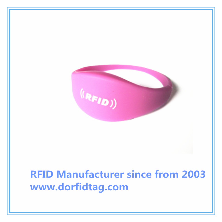 Mifare wristbands RFID wristband technology manufacturer